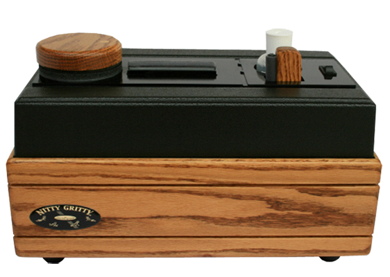 Nitty Gritty Model 2.0 Record Cleaner (Solid Oak)