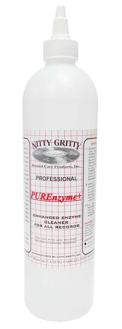 Nitty Gritty PUREnzyme+ Record Cleaning Fluid (16 Ounces)