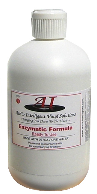 Audio Intelligent Vinyl Solutions Enzymatic Record Cleaning Fluid (32 Ounces)