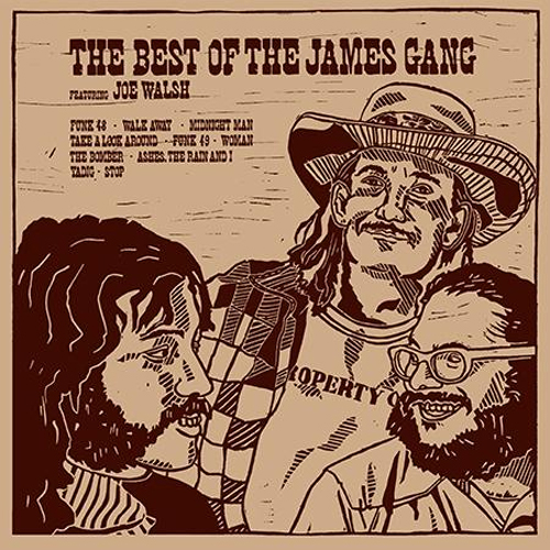 The James Gang The Best of The James Gang featuring Joe Walsh 200g LP