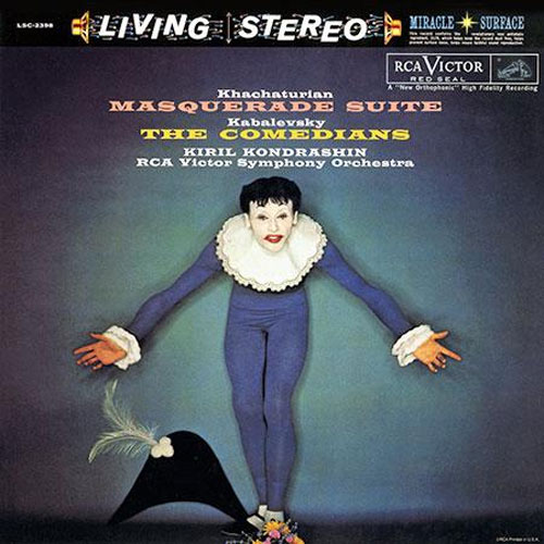 Khachaturian & Kabalevsky Masquerade Suite & The Comedians Hybrid Stereo SACD