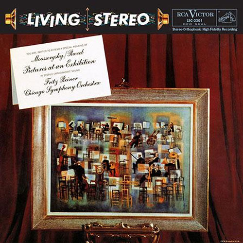 Fritz Reiner Moussorgsky & Ravel Pictures At An Exhibition Hybrid Multi-Channel & Stereo SACD