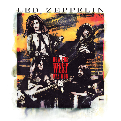 Led Zeppelin How The West Was Won Blu-Ray Audio Disc