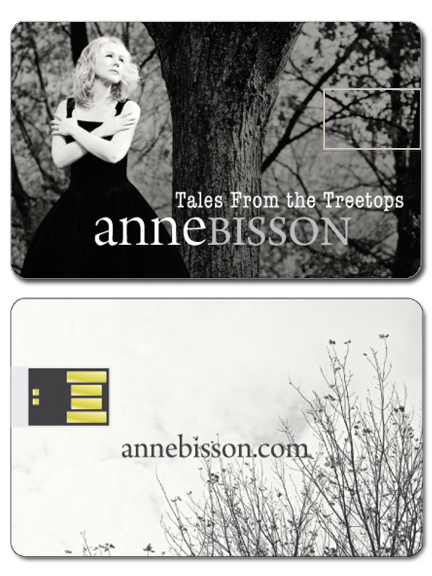 Anne Bisson Tales From The Treetops USB Card