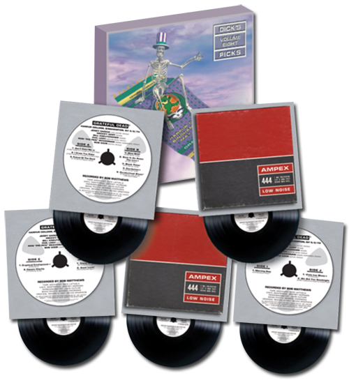 The Grateful Dead Dick's Picks Volume 8 Hand-Numbered Limited Edition 180g 5LP Box Set