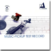 Clearaudio Music-Pickup Test Record 180g LP