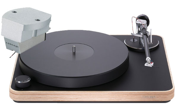 Clearaudio Concept Wood Turntable, Concept V2 MM Cartridge & Satisfy Black Tonearm Combo