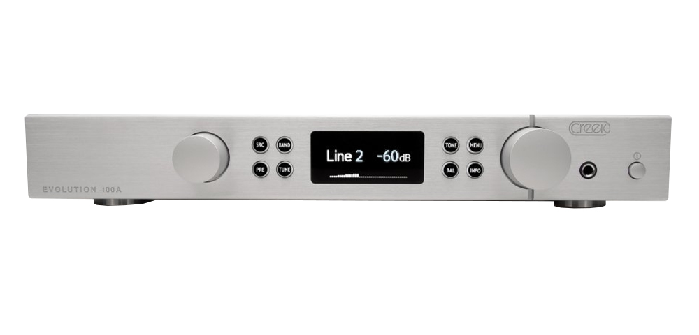Creek Evolution 100A Integrated Amp (Silver)