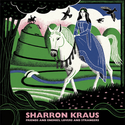 Sharron Kraus Friends and Enemies; Lovers and Strangers Numbered Limited Edition Import LP