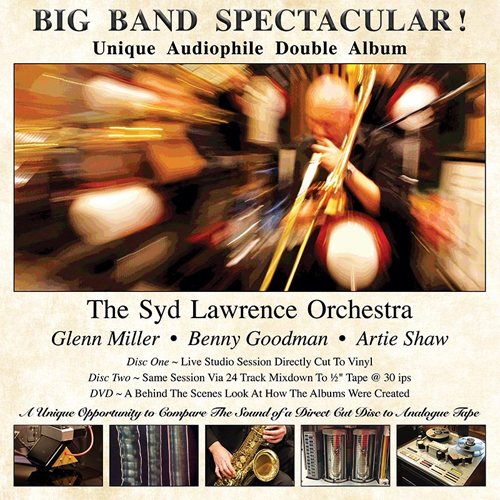 The Syd Lawrence Orchestra Big Band Spectacular 180g D2D Import 2LP
