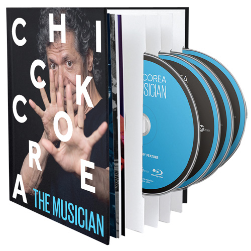 Chick Corea The Musician (Live at the Blue Note, 2011)  Blu-Ray Disc