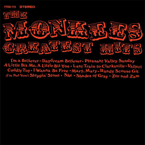 The Monkees The Monkees Greatest Hits (Colgems) 180g LP