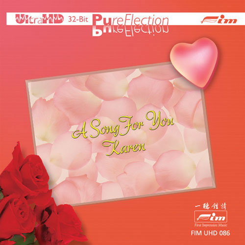 Jeremy Monteiro Featuring Jacintha A Song For You, Karen Limited Edition Ultra HD CD