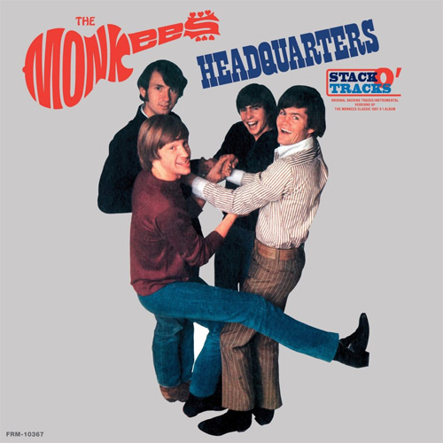 The Monkees Headquarters Stack-O-Tracks 180g LP (Clear Vinyl)