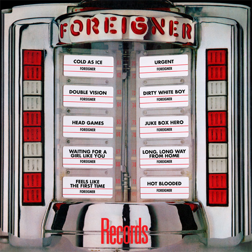 Foreigner Records 180g LP
