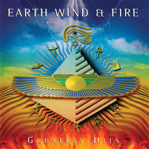 Earth, Wind & Fire Greatest Hits 180g 2LP (Translucent Gold Vinyl)