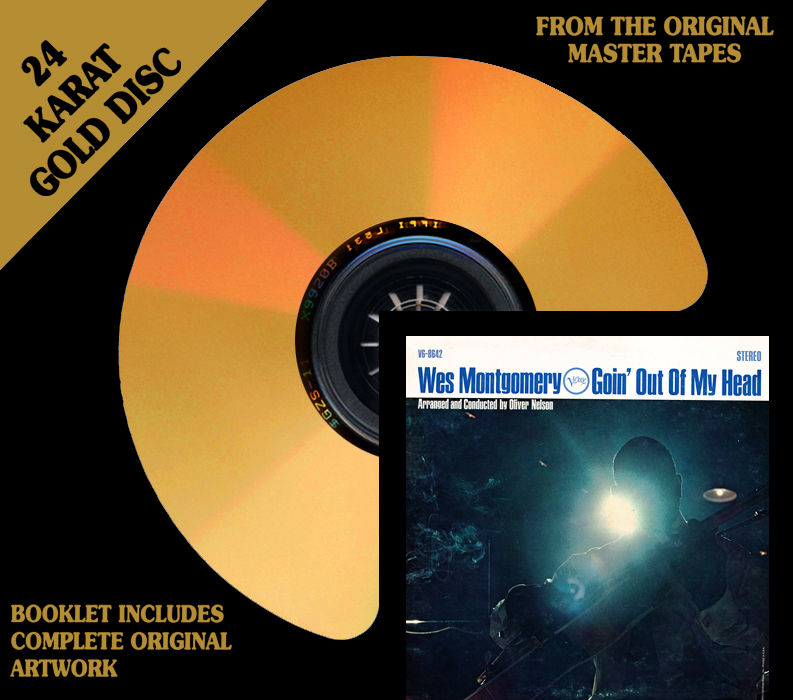 Wes Montgomery Goin' Out Of My Head Gold CD