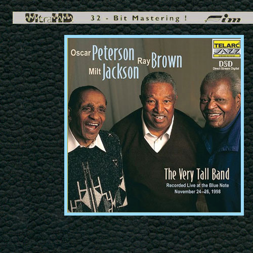 Oscar Peterson, Ray Brown & Milt Jackson The Very Tall Band Limited Edition Ultra HD CD