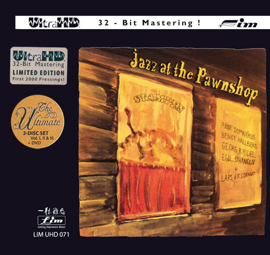 Jazz At The Pawnshop Limited Ultimate Edition Ultra HD 3CD & DVD