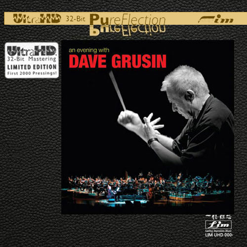Dave Grusin An Evening With Dave Grusin Limited Edition Ultra HD CD