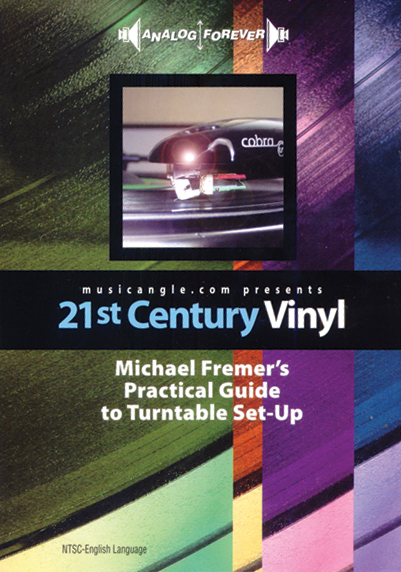 Michael Fremer's Practical Guide To Turntable Set-Up DVD (NTSC)
