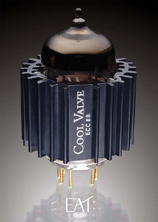 EAT ECC 88 Double Triode Tubes With Cool Dampers (1 Each)