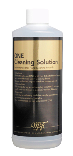 Mobile Fidelity One Record Cleaning Fluid (16 Ounces)