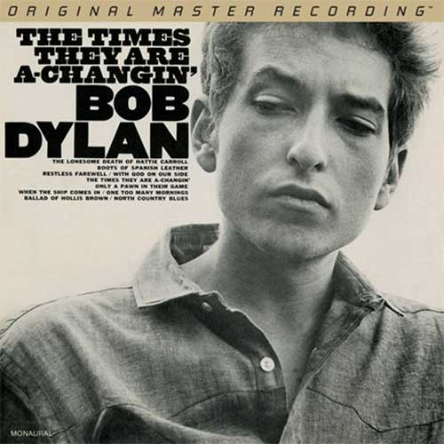 Bob Dylan The Times They Are A-Changin' Numbered Limited Edition 45rpm 180g Mono 2LP