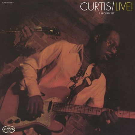 Curtis Mayfield Curtis/Live! 180g Import 2LP