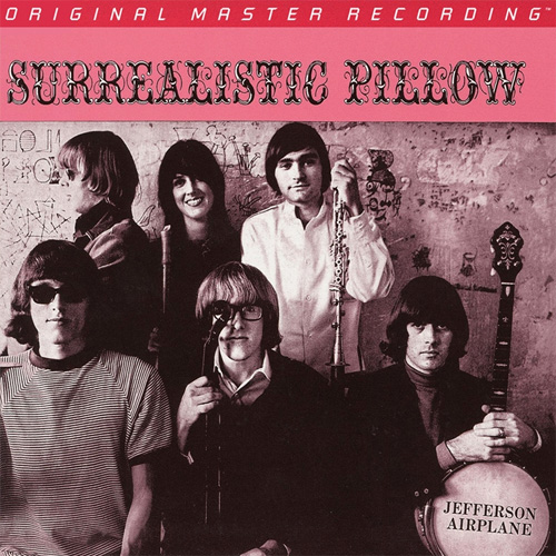 Jefferson Airplane Surrealistic Pillow Numbered Limited Edition Hybrid Mono SACD