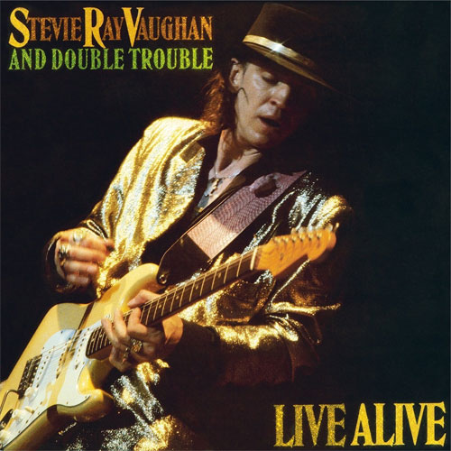 Stevie Ray Vaughan and Double Trouble Live Alive 180g Import 2LP