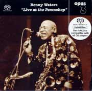 Benny Waters Live At The Pawnshop Hybrid Stereo SACD