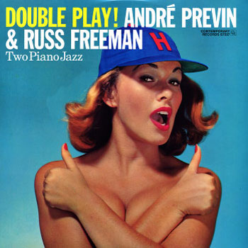 Andre Previn & Russ Freeman Double Play! LP