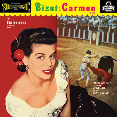 Bizet Carmen & L'Arlisienne Suite Numbered Limited Edition 180g 45rpm 2LP