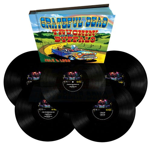The Grateful Dead Truckin' Up to Buffalo Numbered Limited Edition 180g 5LP