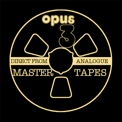 Open Reel Selection of Opus 3 Analogue Recordings Volume IV Master Quality Reel To Reel Tape
