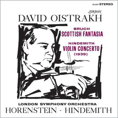 Bruch & Hindemith Scottish Fantasia & Violin Concerto Low Numbered Limited Edition 180g 45rpm 2LP