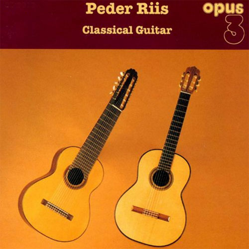 Peder Riis Classical Guitar Master Quality Reel To Reel Tape