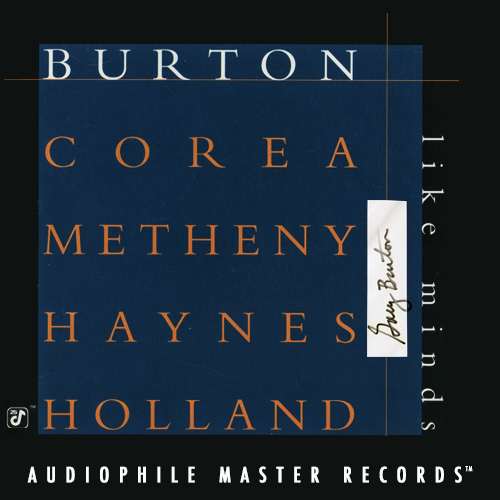 Gary Burton & Chick Corea Like Minds Numbered Limited Edition 180g 2LP (Autographed) (Blue Vinyl)