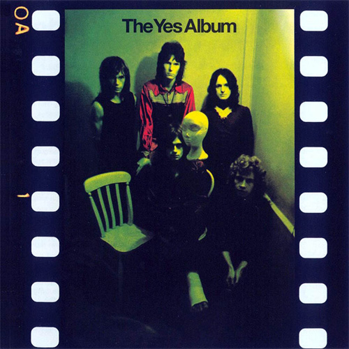 Yes The Yes Album Blu-Ray Audio Disc & CD