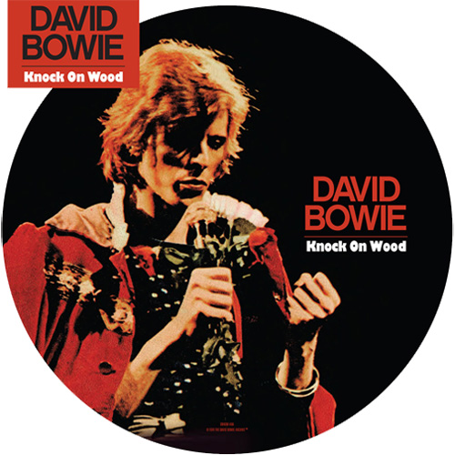 """David Bowie Knock On Wood/Rock 'n' Roll With Me 40th Anniversary 45rpm 7"""" Vinyl (Picture Disc)"""