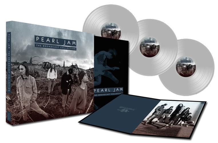 Pearl Jam The Pearl Jam Broadcast Collection Import 3LP Box Set (Clear Vinyl)