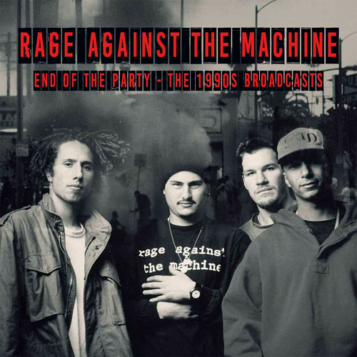 Rage Against The Machine End Of The Party - The 1990s Broadcasts Import 2LP (Clear Vinyl)
