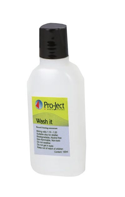 Pro-Ject Wash It Record Cleaning Fluid (100ml)