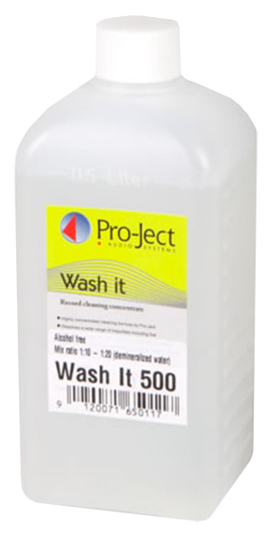 Pro-Ject Wash It Record Cleaning Fluid (500ml)