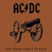 AC/DC For Those About To Rock, We Salute You 180g LP