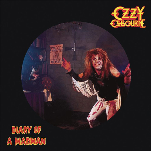 Ozzy Osbourne Diary Of A Madman 180g LP (Picture Disc)
