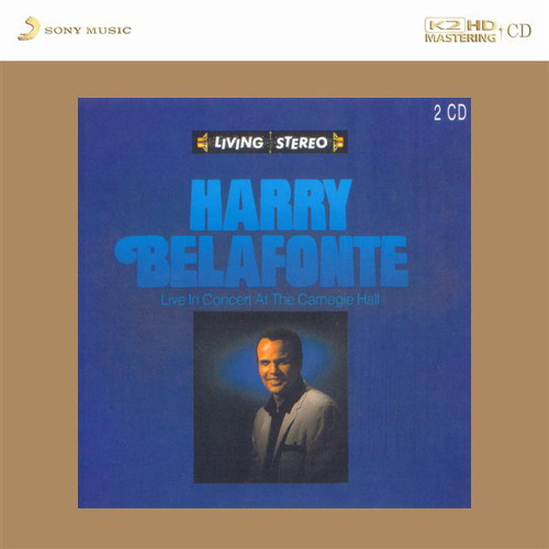 Harry Belafonte Live In Concert At The Carnegie Hall K2 HD Import 2CD