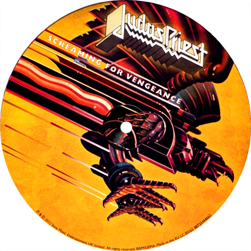 Judas Priest Screaming For Vengeance 30th Anniversary 180g LP (Picture Disc)