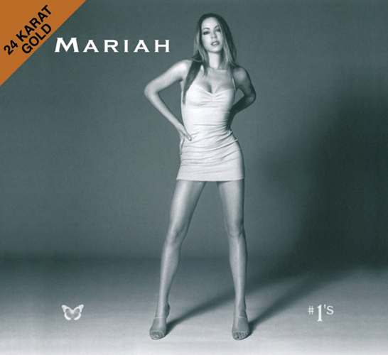 Mariah Carey #1's Numbered Limited Edition Gold CD